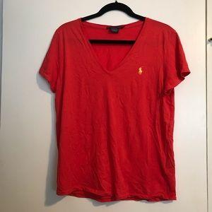 Polo Ralph Lauren v-neck shirt